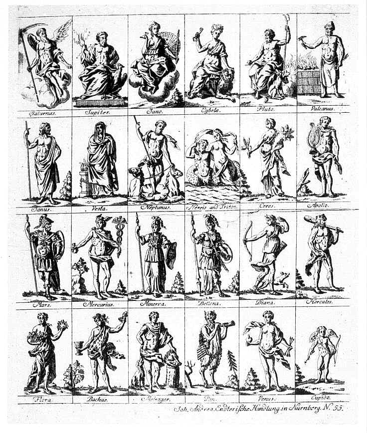 griechische halbgötter liste